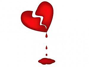 bloody broken heart