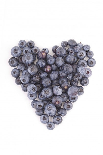Blueberry Heart