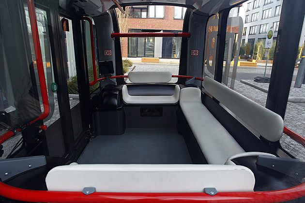Deutsche Bahn Presents Self-Driving Bus Pilot Project
