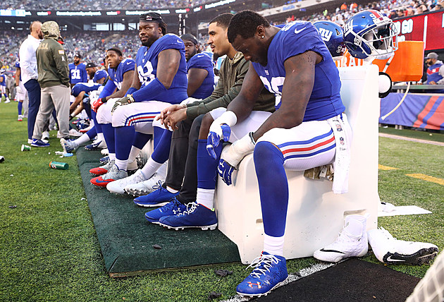 Los Angeles Rams vsNew York Giants